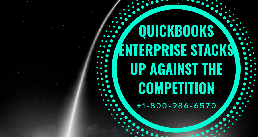 How QuickBooks Enterprise Stacks up Against the Competition